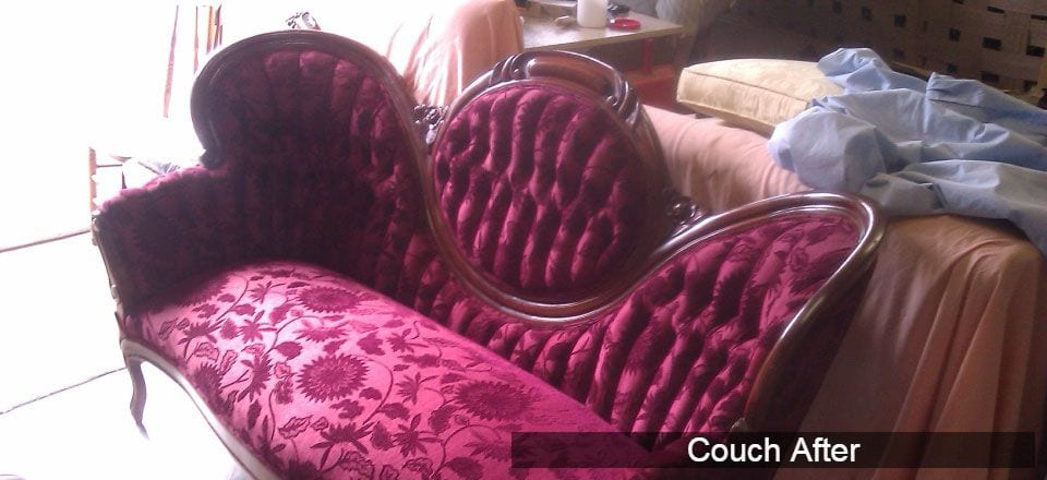 Antique couch - restored!