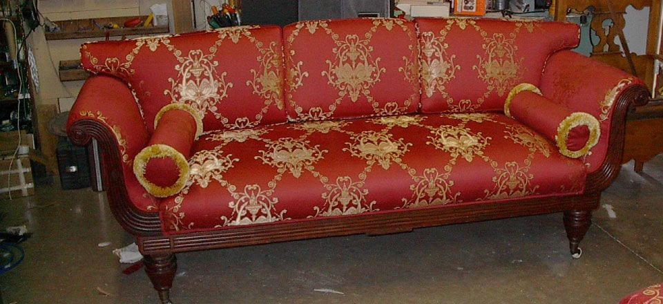 Antique Couch - Restored